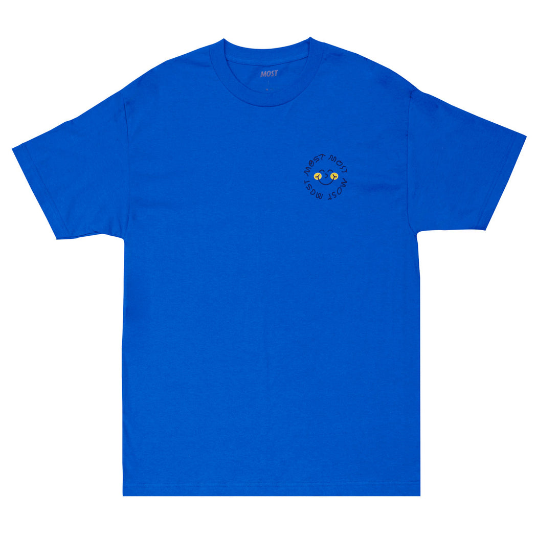 Smile Tee - Royal