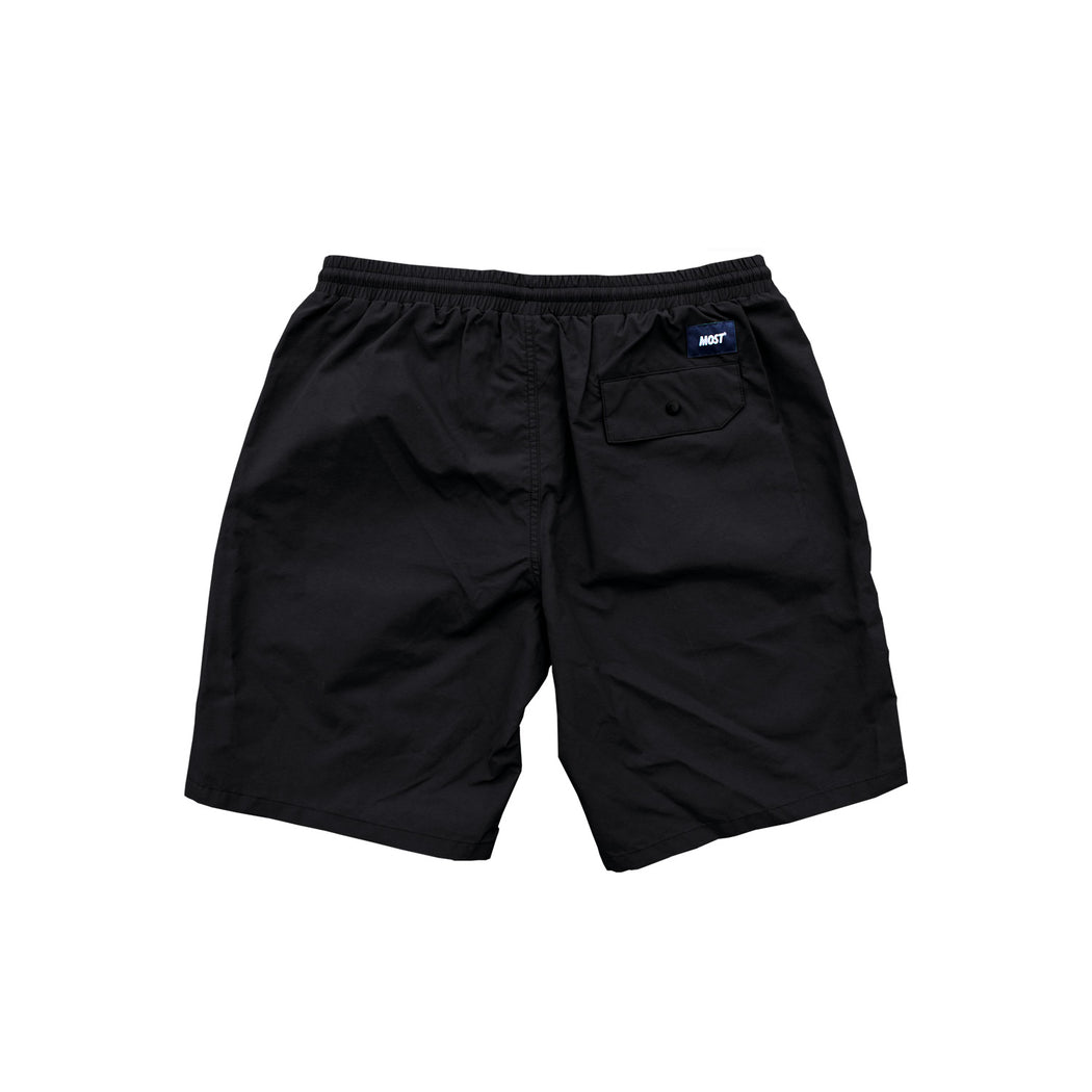 Logo Water Short - Black
