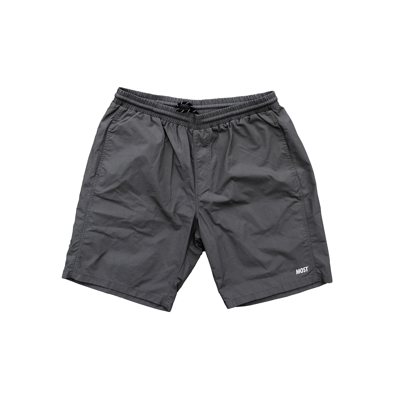 Logo Water Short - Charcoal