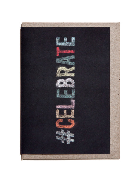 Celebrate A6 Greeting Card