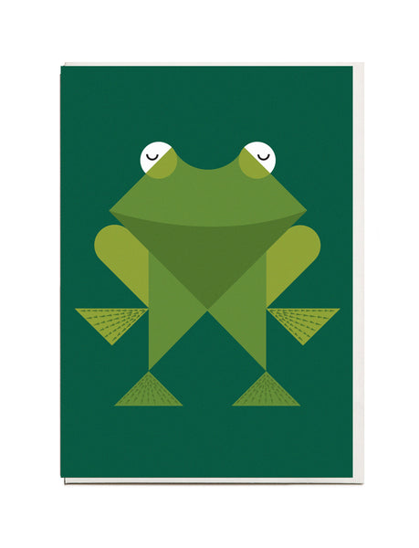 Frog A6 Greeting Card