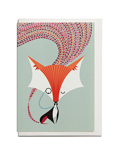 Fox A6 Greeting Card