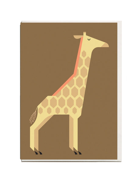 Giraffe A6 Greeting Card