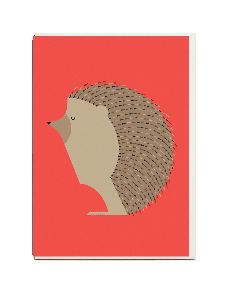Hedgehog A6 Greeting Card