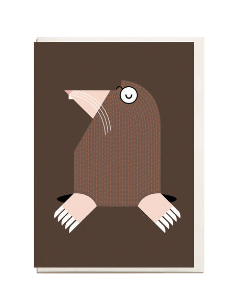 Mole A6 Greeting Card