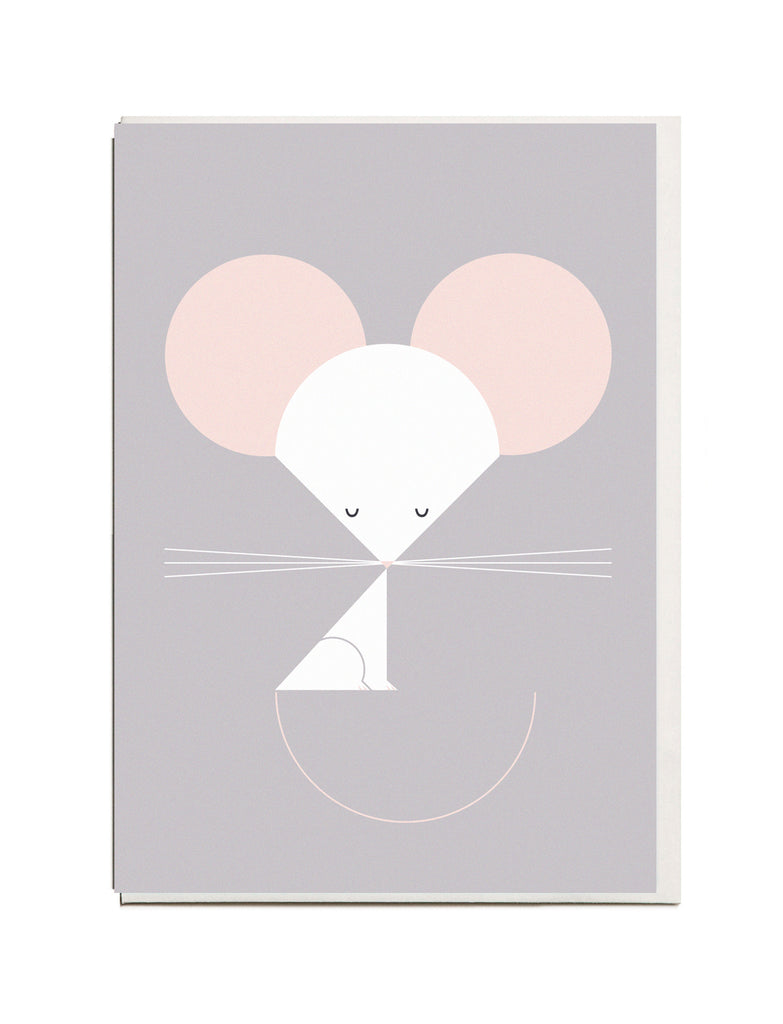 Mouse A6 Greeting Card