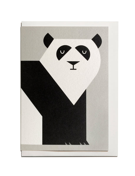 Panda A6 Greeting Card
