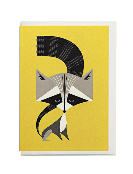 Racoon A6 Greeting Card