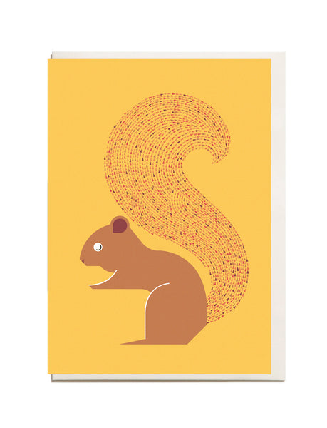Squirrel A6 Greeting Card