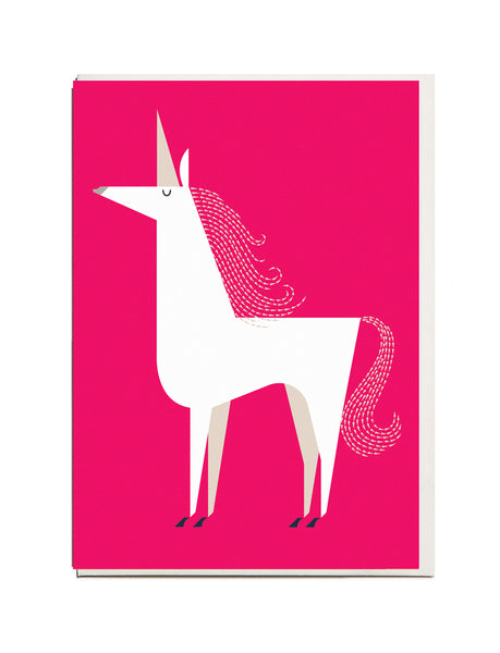 Unicorn A6 Greeting Card