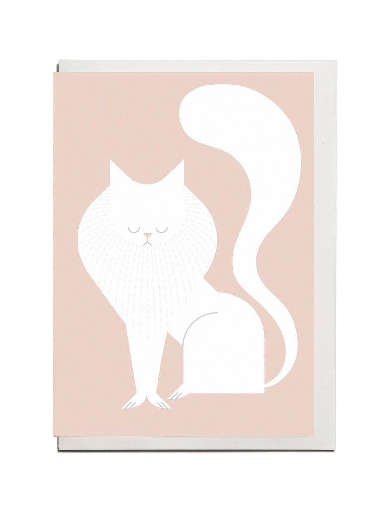 Persian Cat A6 Greeting Card