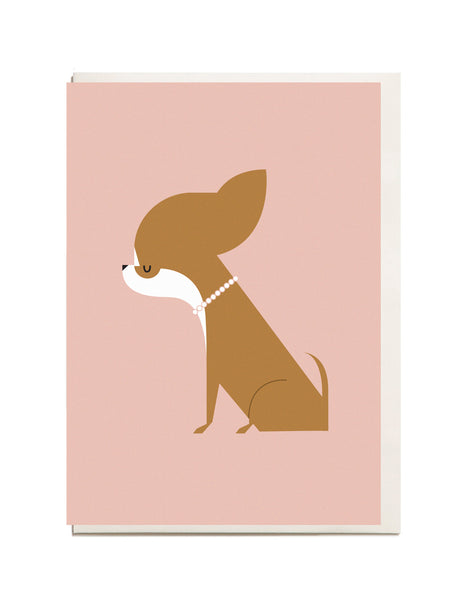 Chihuahua A6 Greeting Card