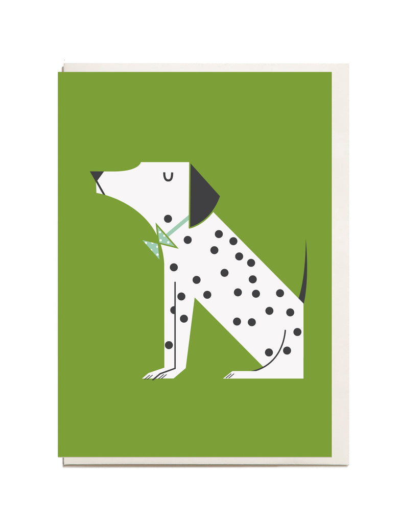 Dalmation A6 Greeting Card
