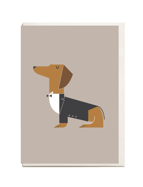 Dachshund A6 Greeting Card