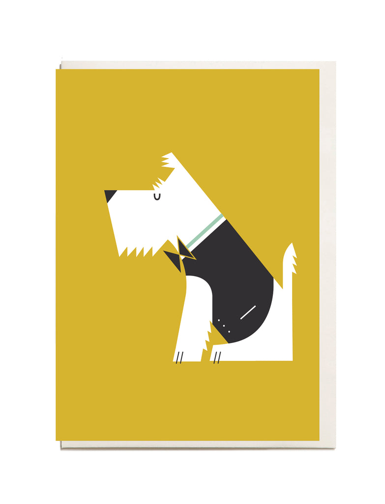 West Highland Terrier A6 Greeting Card