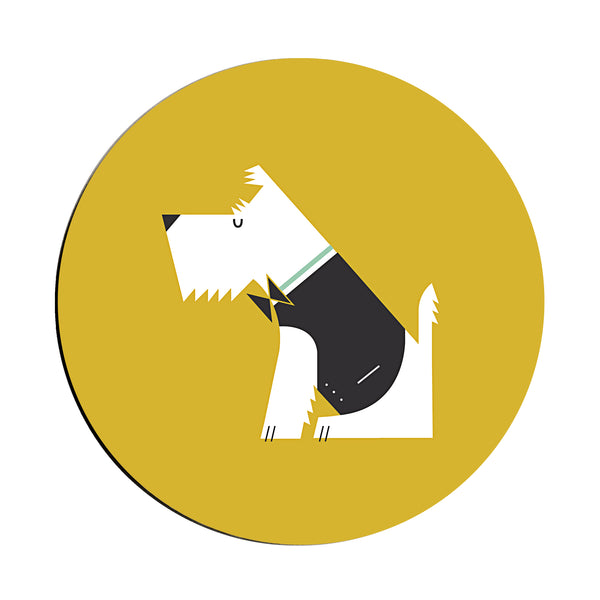 West Highland Terrier Coaster