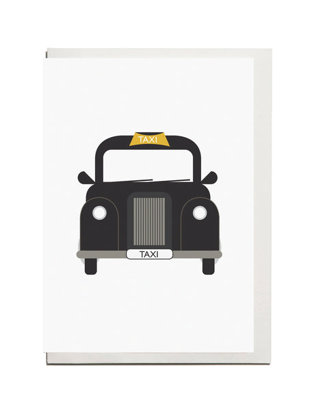 Black Cab A6 Card