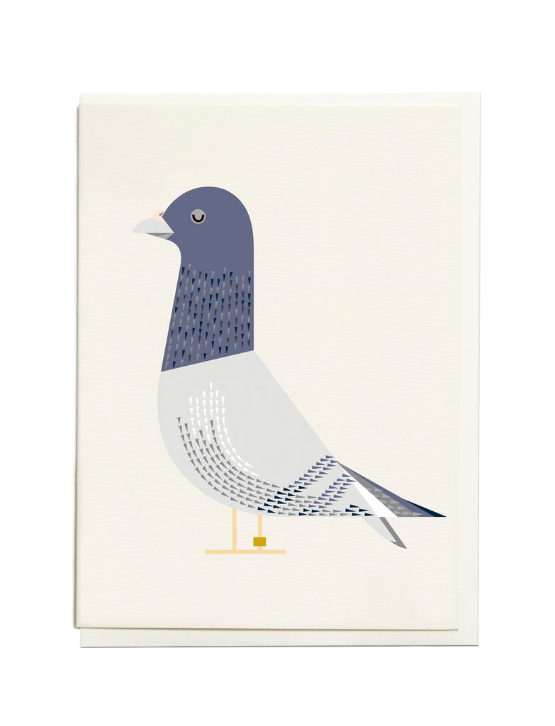 Gelato Pigeon A6 Greeting Card