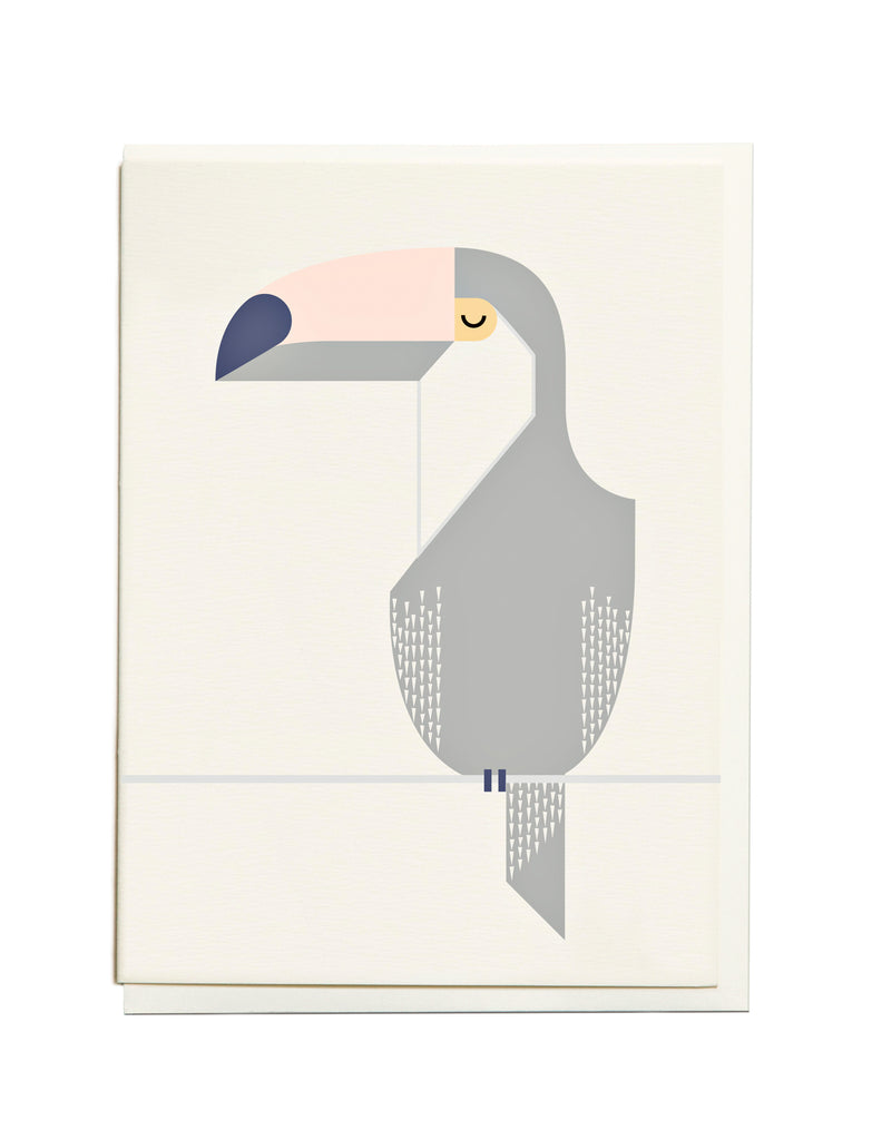 Gelato Toucan A6 Greeting Card