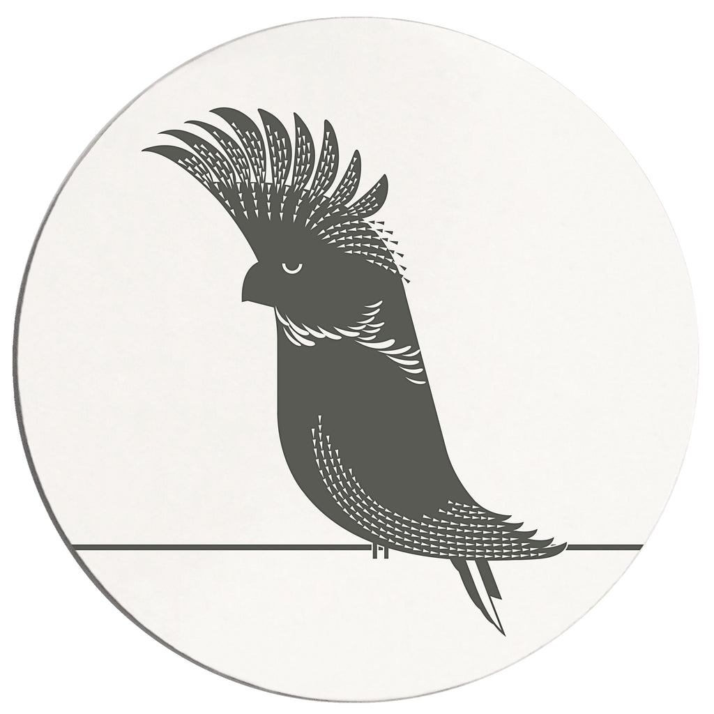 Black Cockatoo Placemat