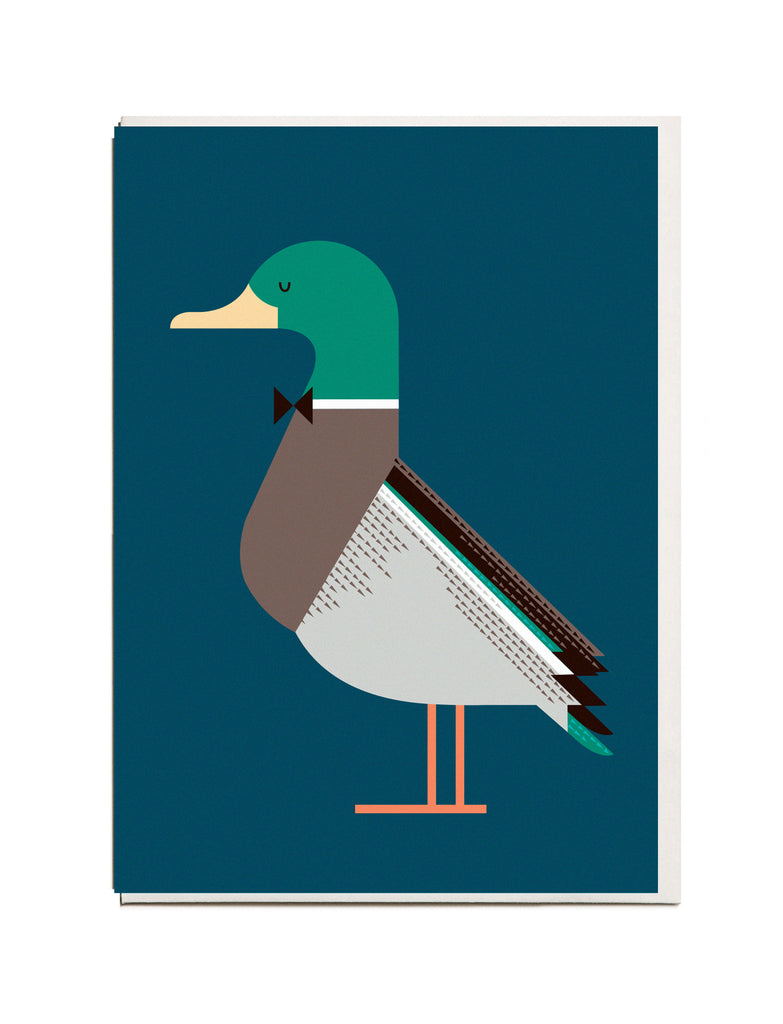 Duck A6 Greeting Card