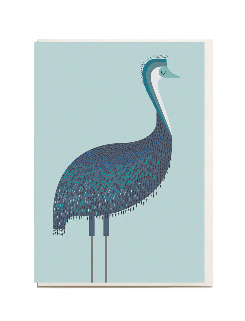 Emu A6 Greeting Card