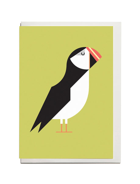 Puffin A6 Greeting Card