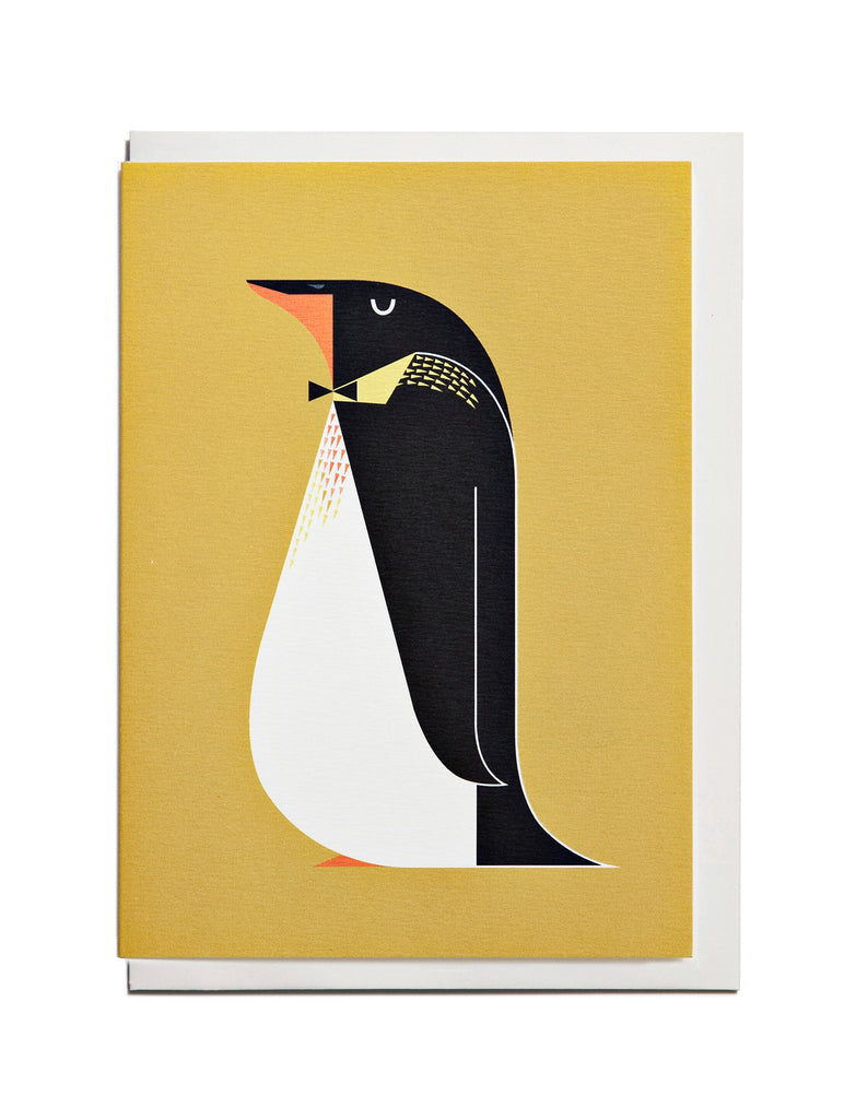 Penguin A6 Greeting Card