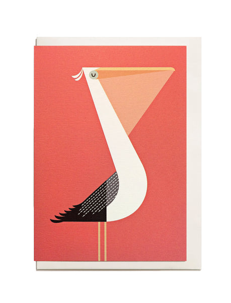 Pelican A6 Greeting Card