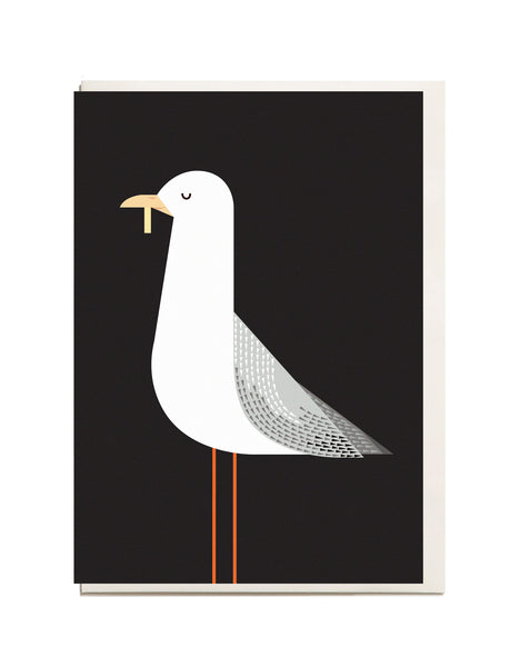 Seagull A6 Greeting Card