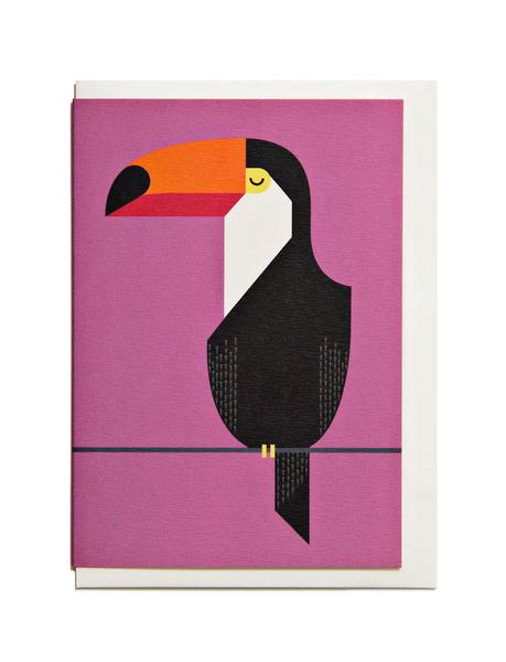 Toucan A6 Greeting Card