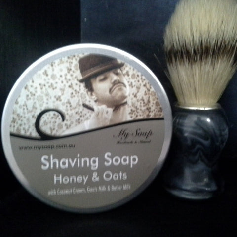 Shaving Soap in a Tin