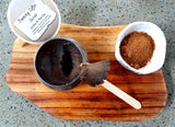 Vanilla & Coffee foaming sugar scrub