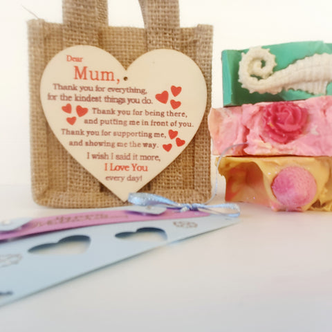 Mother's Day Jute Bag... mum tag