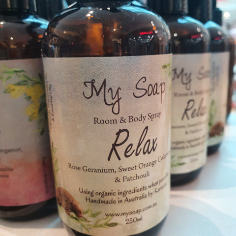 Relax Room & Body Spray