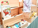 Ten soaps plus decorated timber gift box