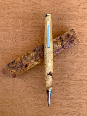 Box Elder Maple Burl Pen