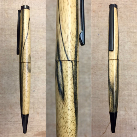 Black and White Ebony Pen