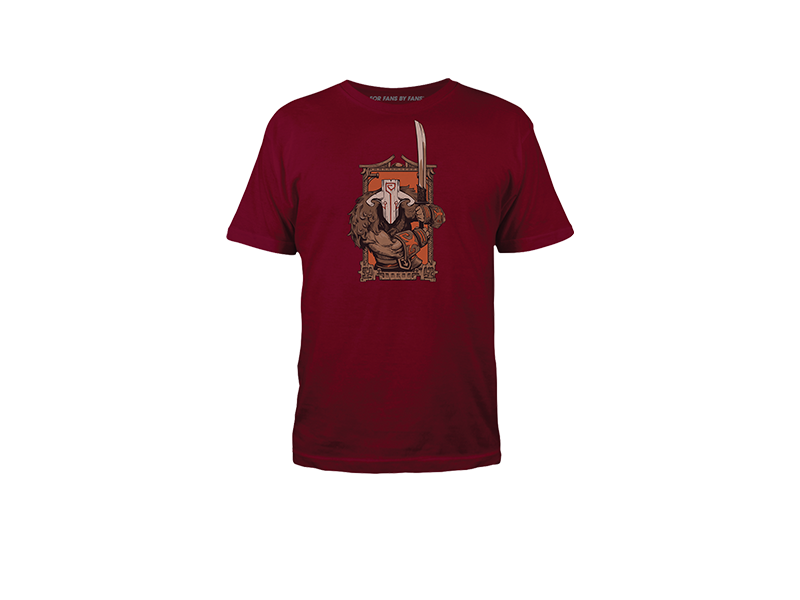 DOTA 2 - Juggernaut Stands Readyby Fury_On Tシャツ