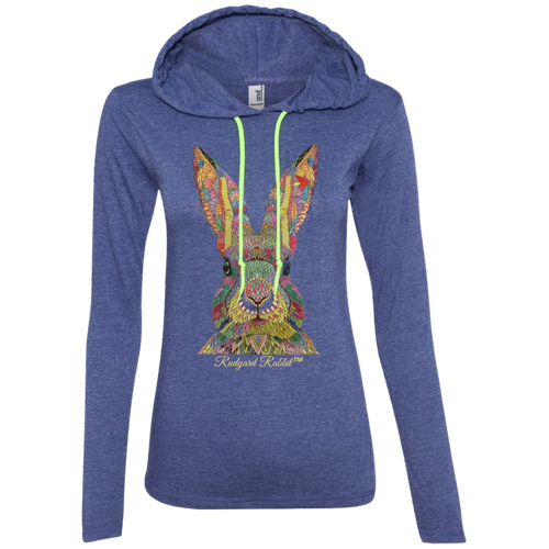 Rudyard Rabbit™ Ladies' T-Shirt Hoodie - T-Shirts