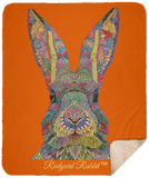 Rudyard Rabbit™ Fleece Sherpa Blanket (50x60in)