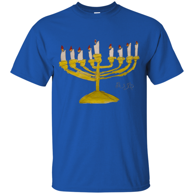 Josie's Menorah (Youth Sizes) - T-Shirts