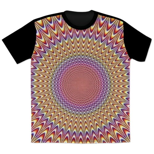 3D Optical Illusion t-shirt - T-Shirts