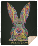 Rudyard Rabbit™ Fleece Sherpa Blanket (50x60in) - Blankets