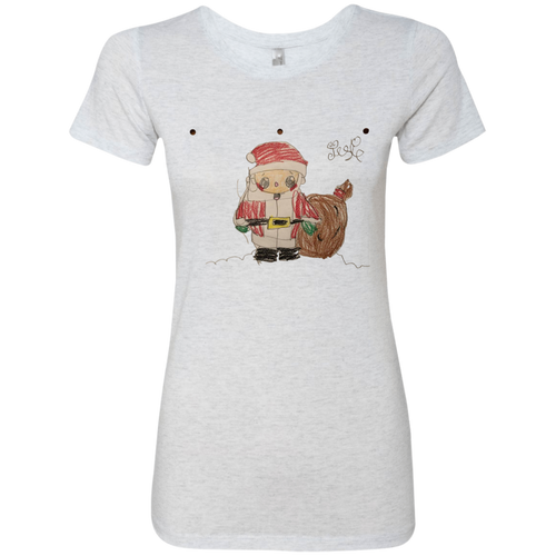Josie's Santa t-shirt (Ladies' Cut) - T-Shirts