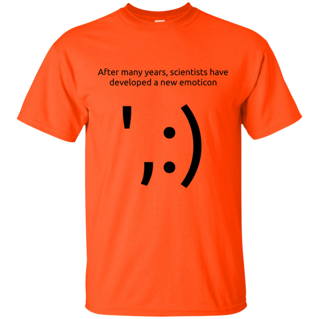 Scientist Emoticon t-shirt - T-Shirts