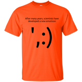 Scientist Emoticon t-shirt