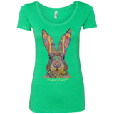 Rudyard Rabbit™ Ladies' Scoop T-Shirt - T-Shirts