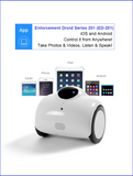 Enforcement Droid Series 201 - Mobile HD Surveillance Robot Camera (w/ Night Vision) -