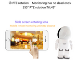 HD Robot Baby Monitor/Home Security Camera -